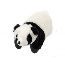 Подушка под голову «Панда». С помощью липучки превращается в мягкую игрушку