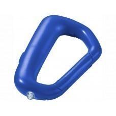 """Брелок """"Proxima"""" с карабином и фонариком, ярко-синий"""