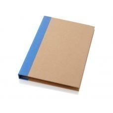 """Папка """"Ranger"""" с блокнотом, набором стикеров, блоком для записей и ручкой, синий"""
