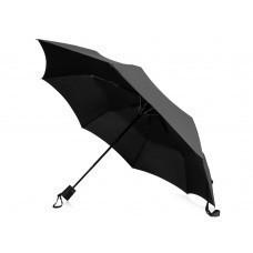 """Зонт складной """"Sir"""", полуавтомат 21"""", черный"""