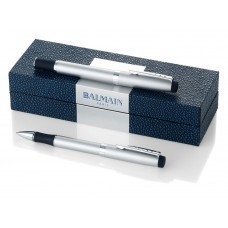 Набор ручек ''Perpignan'' в подарочной коробке: ручка шариковая и роллер, черные чернила