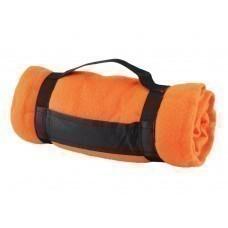 Плед «Нежность», оранжевый