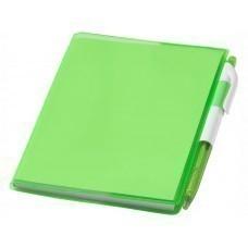 """Блокнот А6 """"Paradiso"""" с ручкой, зеленый"""