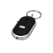 Брелок-фонарик с функцией поиска предметов, черный/серебристый