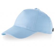 """Бейсболка """"Memphis"""" 5-ти панельная, голубой"""