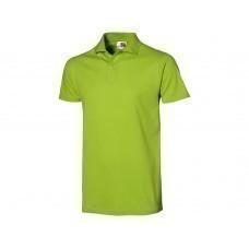 """Рубашка поло """"First C"""" мужская, зеленое яблоко"""