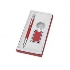 Набор «Эстель»: ручка, брелок, красный