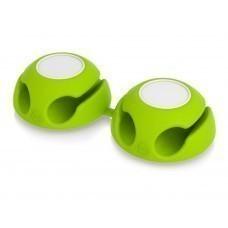 """Подставка для кабеля """"Clippi"""", зеленое яблоко (2 шт.)"""