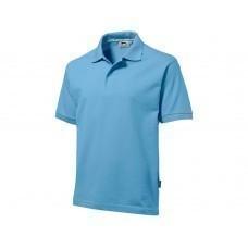 "Рубашка поло ""Forehand"" мужская, голубой"