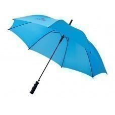 """Зонт трость """"Porter"""", полуавтомат 23"""", голубой"""