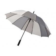 """Зонт трость """"Trias"""", полуавтомат 23,5"""", серый"""