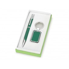 Набор «Эстель»: ручка, брелок, зеленый