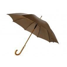 """Зонт-трость """"Радуга"""", коричневый"""