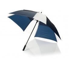 """Зонт трость """"Helen"""", механический 30"""", синий/белый"""