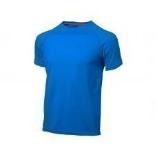 "Футболка ""Serve"" мужская, небесно-голубой"