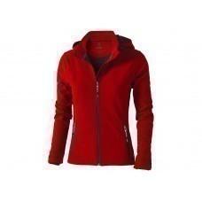 """Куртка софтшел """"Langley"""" женская, красный"""