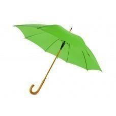 """Зонт-трость """"Радуга"""", зеленое яблоко"""