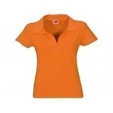 """Рубашка поло """"Hawaii"""" женская, оранжевый"""