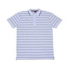 """Рубашка поло """"Ottawa"""" мужская, голубой/черный/белый"""