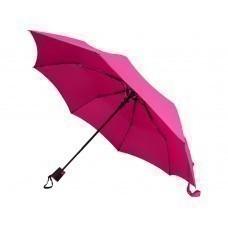 """Зонт складной """"Sir"""", полуавтомат 21"""", фуксия"""