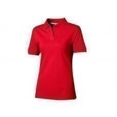 """Рубашка поло """"Forehand"""" женская, темно-красный"""