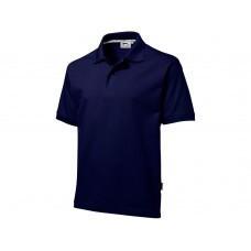 "Рубашка поло ""Forehand"" мужская, темно-синий"