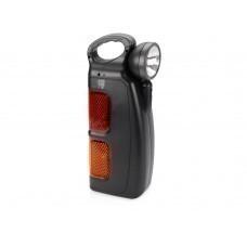 Набор инструментов автомобилиста с фонарем, 14 предметов, черный