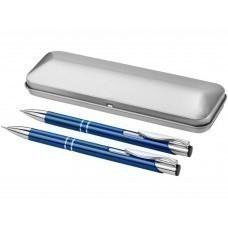 """Набор """"Dublin"""": ручка шариковая, карандаш механический, ярко-синий"""