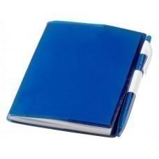 """Блокнот А6 """"Paradiso"""" с ручкой, синий"""