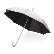 """Зонт трость """"Tristane"""", механический 23"""", серебристый/черный"""