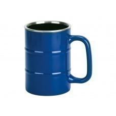 """Кружка """"Баррель"""" 400мл, синий"""