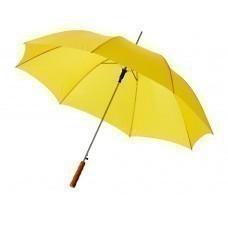 "Зонт-трость ""Lisa"" полуавтомат 23"", желтый"