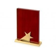 """Плакетка """"Звезда"""", коричневый"""