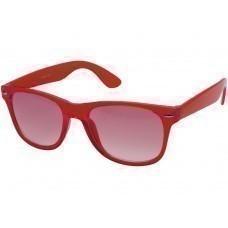 """Очки солнцезащитные """"Sun Ray"""" с прозрачными линзами, красный"""