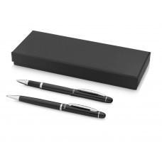 """Набор ручек """"Arles""""в подарочной коробке: ручка шариковая и роллер, черный, черные чернила"""