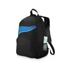 """Рюкзак """"Tornado"""", черный/ярко-синий"""