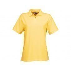 "Рубашка поло ""Boston"" женская, светло-желтый"