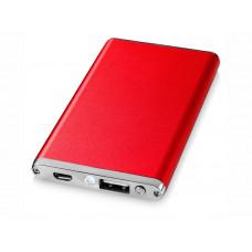 """Портативное зарядное устройство """"Taylor"""" 2200 мА/ч, красный"""
