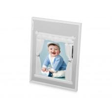 Рамка для фотографии 10х15 см «Уют» в виде окна со шторами и карнизом,размер внутреннего окна 10,3х7