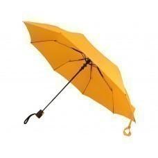 "Зонт складной ""Sir"", полуавтомат 21"", желтый"