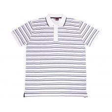 """Рубашка поло """"Ottawa"""" мужская, белый/черный/темно-синий"""