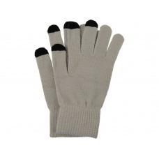 Перчатки для сенсорного экрана, серый, размер L/XL