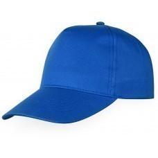 """Бейсболка """"Memphis"""" 5-ти панельная, классический синий"""