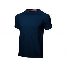 """Футболка """"Serve"""" мужская, темно-синий"""