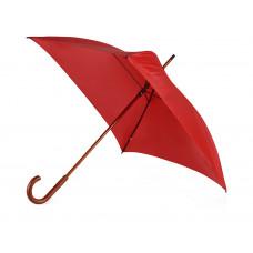 Зонт-трость механический с деревянной ручкой