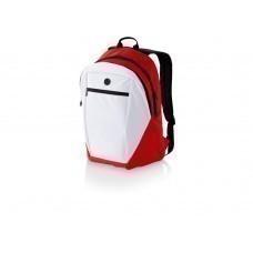 """Рюкзак """"Ozark"""", белый/красный"""