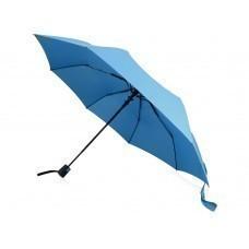 """Зонт складной """"Sir"""", полуавтомат 21"""", голубой"""