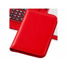 """Блокнот А6 """"Smarti"""" с калькулятором, красный"""