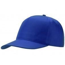 "Бейсболка ""Poly"" 5-ти панельная, кл.синий"