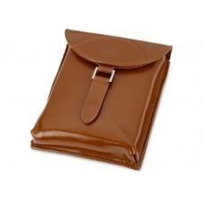 Набор аксессуаров для чистки обуви «Кэрролтон», коричневый/натуральный